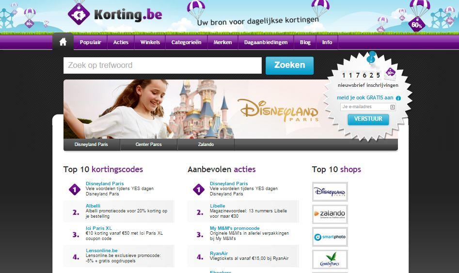 belgische kortingsites belgie