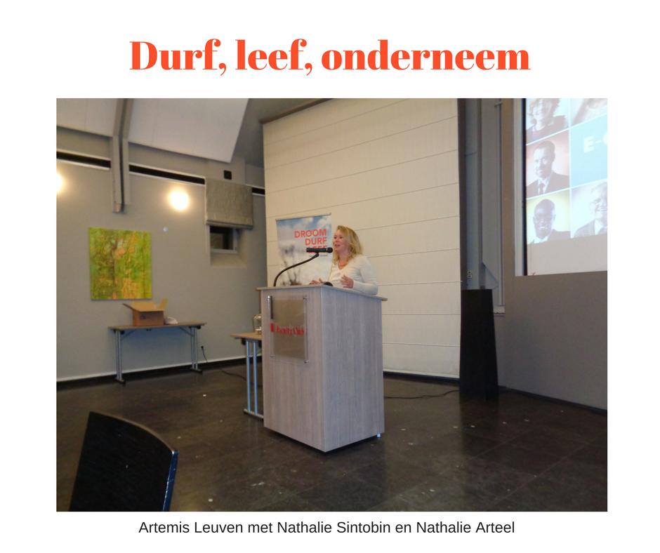 Artemis Leuven Durf, leef, onderneem
