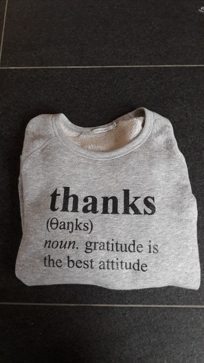Schaamte - Gratitude is the best attitude
