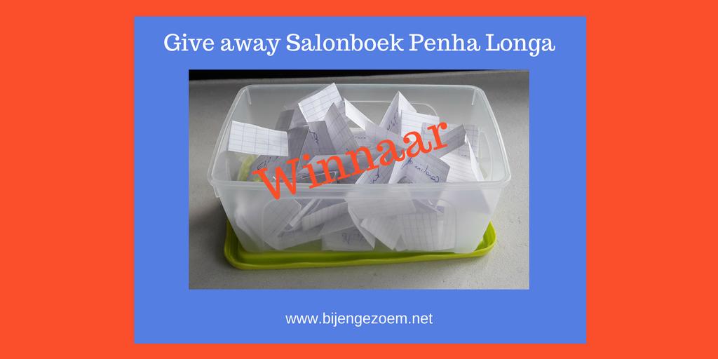 Give away penha longa salonboek: wie wint ?