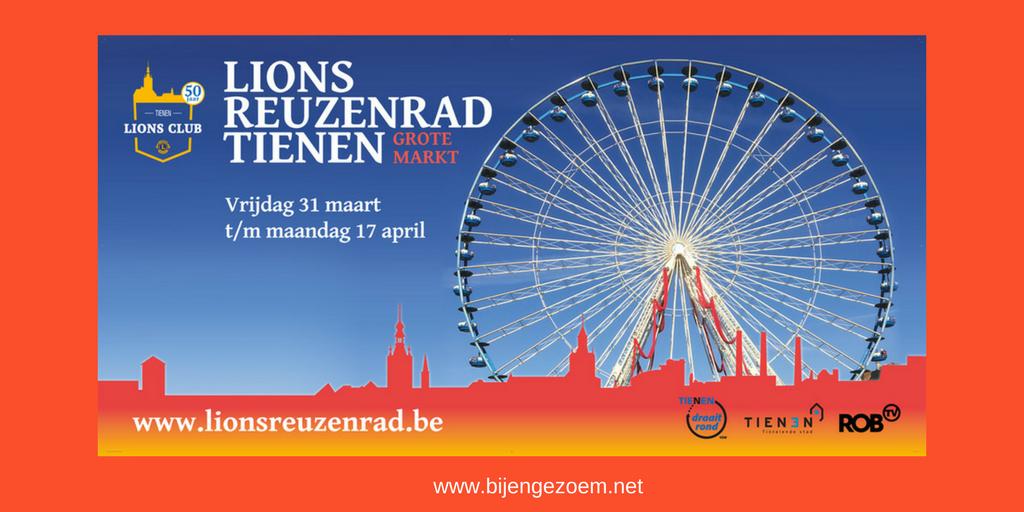 Een reuzenrad in Tienen: heel fijn initiatief !