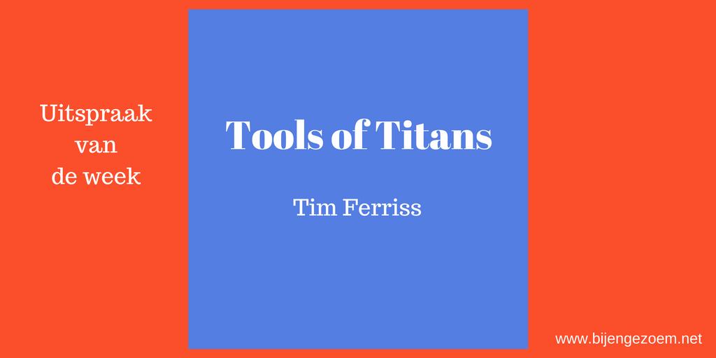 Topols of Titans, Tim Ferriss