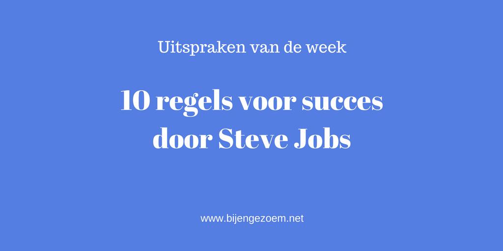 Citaten Voor Succes : Bekende citaten steve jobs what can teach