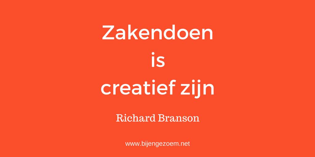 The Branson Way: zakendoen is creatief zijn !