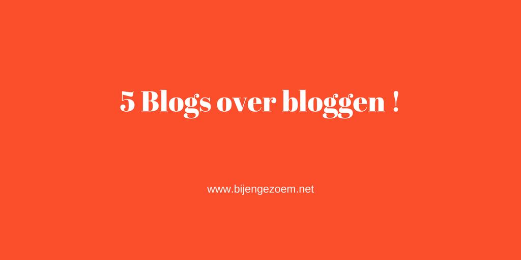 5 blogs over bloggen