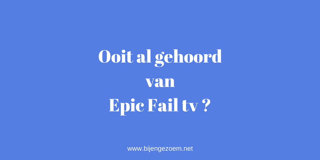 Epic Fail tv