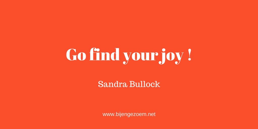 Go find your joy