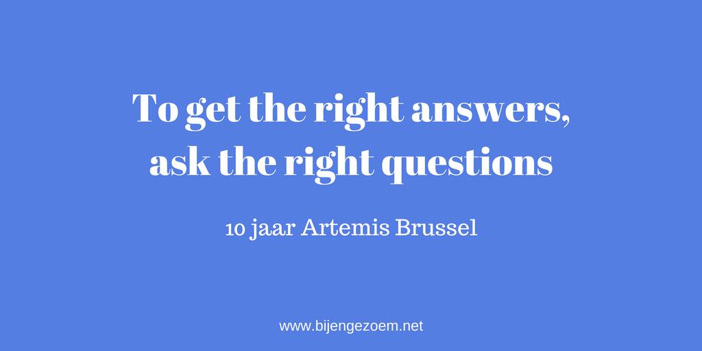 10 jaar Artemis Brussel