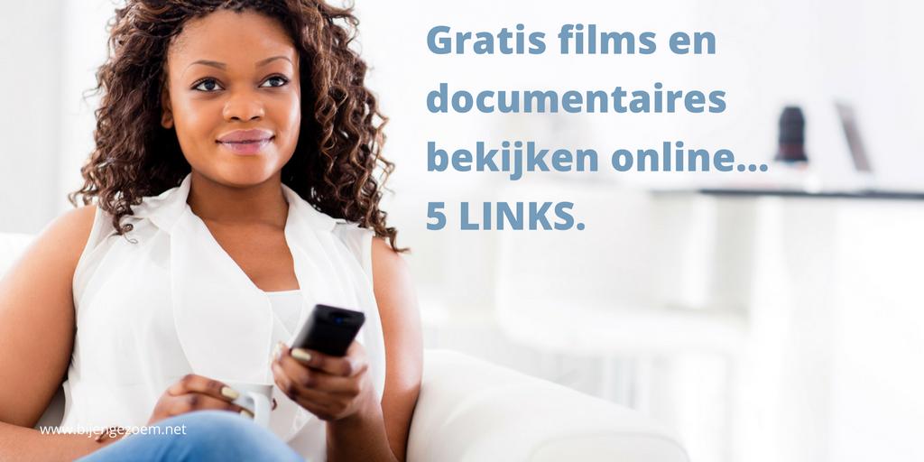 Gratis online films bekijken