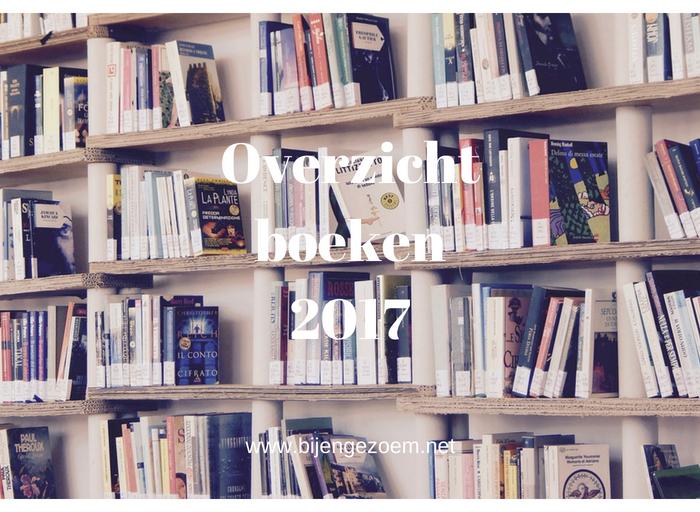 Boeken gelezen in 2017 – Overzicht