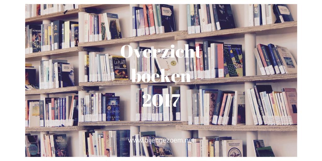 Overzicht boeken 2017