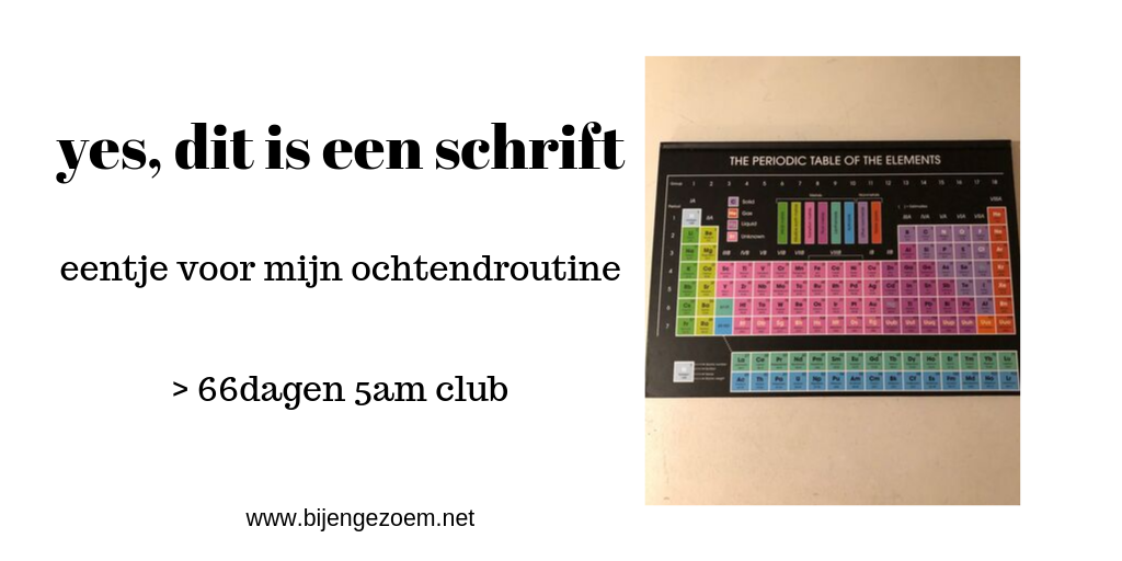 5am club na 66 dagen