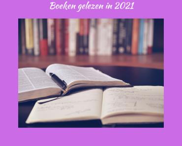Boeken gelezen in 2021